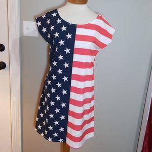 American Flag Dress Size Medium